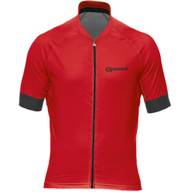 Gonso Cuvo Bike Jersey Shortsleeve Men red